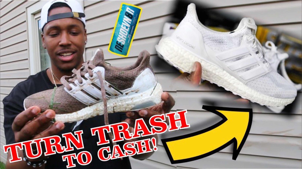 82f49c7a94986d HOW TO TURN TRASH SNEAKERS TO CASH USING RESHOEVN8R! EASY WAY TO MAKE EXTRA  MONEY AS A SNEAKERHEAD!