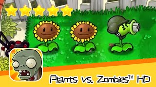 Plants vs  Zombies™ HD Adventure 1 Day Level 02 Walkthrough The zombies are coming! Recommend index