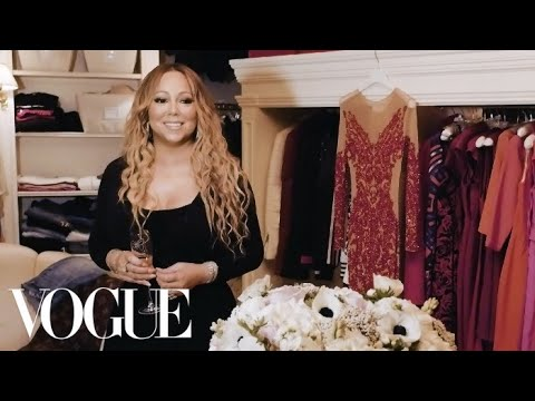 Mariah Carey: The Diva on Nesting | Vogue
