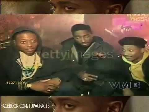 2Pac Interview On The Set Of Juice