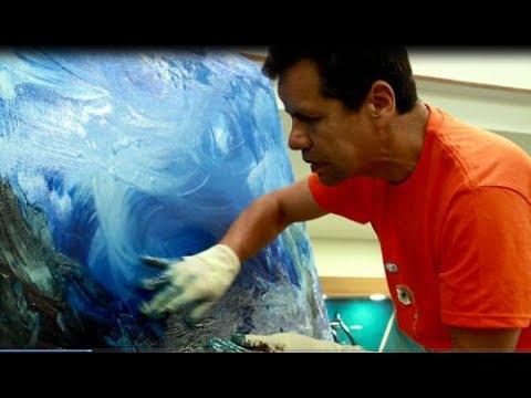 Javier Alejandro Serrano, Un Don Celestial, el arte de pintar sin ver