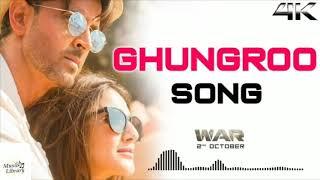 Ghungroo Full Mp3 Song | War | Hrithik Roshan | Vishal and Shekhar ft, Arijit Singh, Shilpa Rao720p