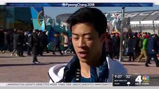 20180217   News clip Nathan Chen LP with interview