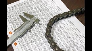 Как измерить шаг цепи