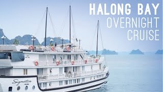 Overnight Cruise in Ha Long Bay, Vietnam