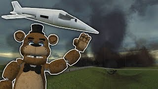 We Tried to Stop a Tornado With a Nuke in Gmod! - Garry's Mod Gameplay Nuke Survival