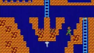 Montezuma's Revenge Game Sample - Sega Master System