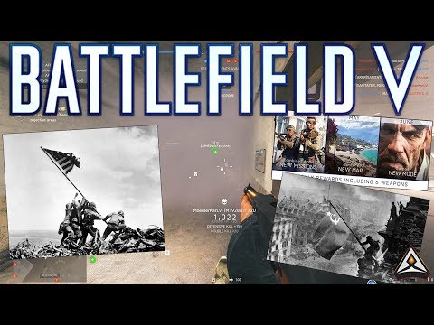 New content announced! New maps, new mode, Pacific Theatre? - Battlefield 5 Update thumbnail