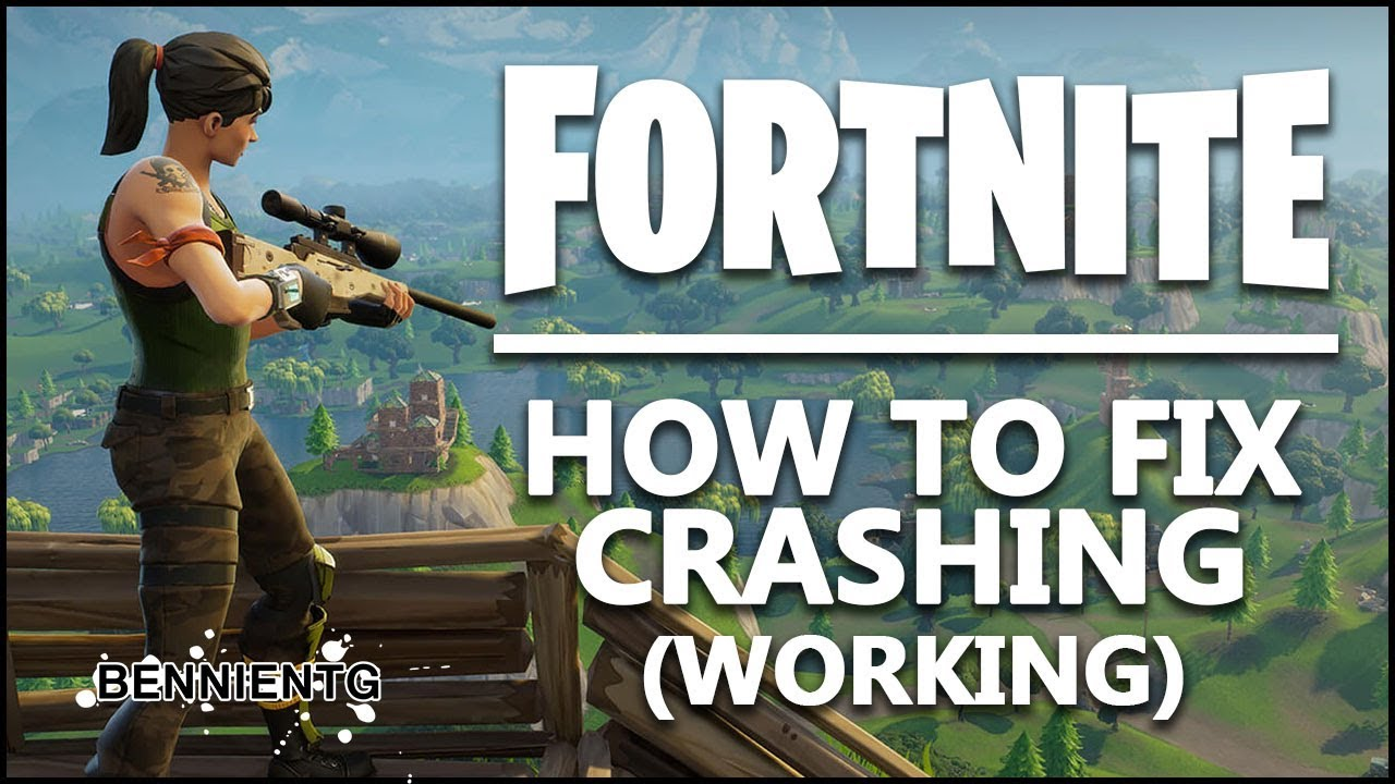 how to stop fortnite crashing
