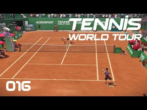 Tennis World Tour [PS4] #016 - Erstes Grand Slam Turnier - Let's Play