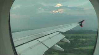 Singapore Airlines A380 SQ321  Landing in Singapore Changi Airport