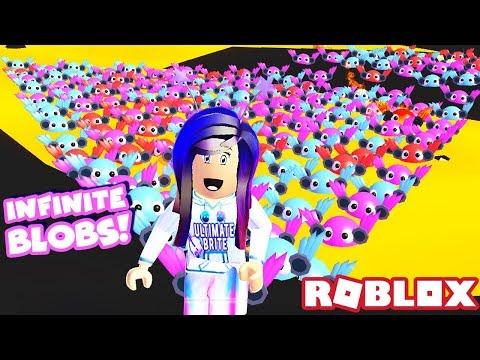 WE SPENT OVER 62K ROBUX! 😱 (Infinite Blobs & Shiny TeraBrite Blob) | Roblox Blob Simulator 2