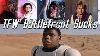 Star Wars Battlefront - Heartbreaking Disappointment