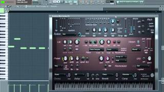 South African Hiphop pluck on FL studio
