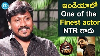 NTR Is One Of The Finest Actors In India - Josh Ravi | Frankly With TNR | Talking Movies With iDream