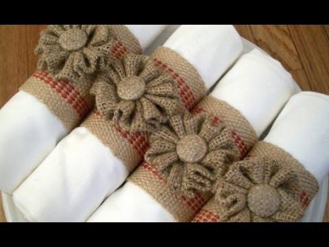 burlap-wedding-napkins