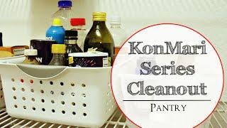 Konmari Series Cleanout: The Pantry!