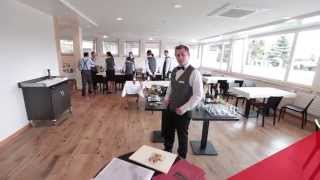 Les Roches practical learning facilities tour with Tristan