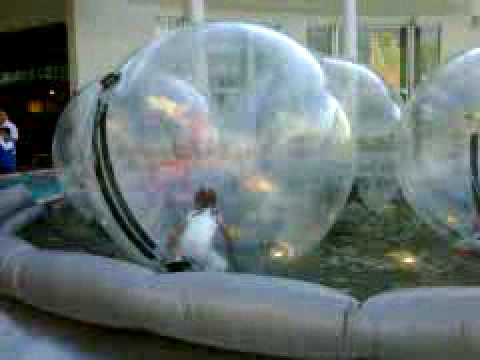 Carmen en su burbuja de plastico youtube - Plastico de burbujas ...