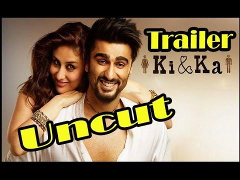 UNCUT - Ki & Ka Movie (2016) Official Trailer Launch - Kareena Kapoor Khan - Arjun Kapoor - R. Balki