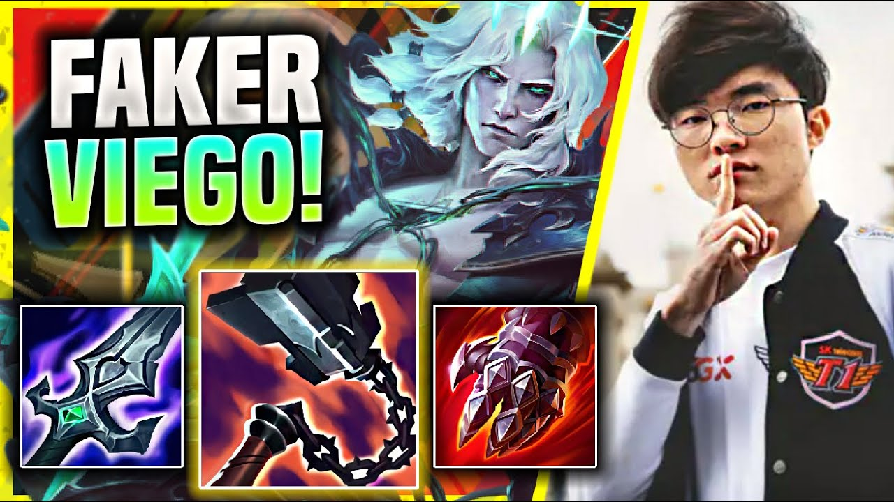 FAKER HARD CARRY WITH NEW CHAMPION VIEGO! - T1 Faker Plays Viego Mid vs Galio! | Season 11