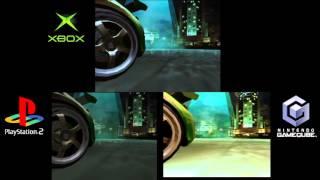 NFS Underground 2 PS2 vs Xbox vs CG  Gameplay [6GCW]