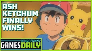 Ash Ketchum Finally Wins - Kinda Funny Games Daily (w/Mega Ran) 09.16.19