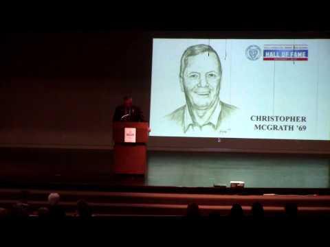 Christopher McGrath '69 inducted into VASJ Hall of Fame