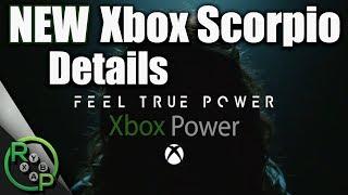 Xbox Scorpio - NEW Scorpio Final Design Details + E3 Teaser Secrets