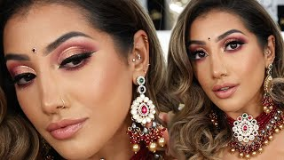 AUTUMN/FALL INDIAN BRIDAL MAKEUP | AnchalMUA