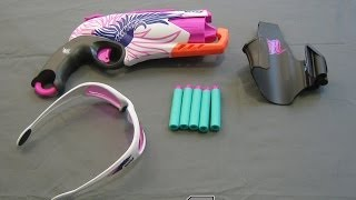 [REVIEW] Nerf Rebelle Sweet Revenge Unboxing, Review, and Firing Test