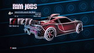 Customize uncustable Cars Glitch Saints Row 4(Glitch)