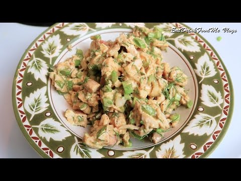 Easy Simple Chicken Salad Using Leftover Chicken Meat