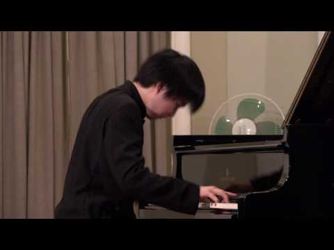 Mao Fujita plays Chopin's Etude op.10/12