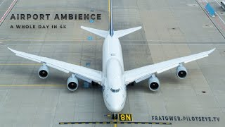 18 Hours of a BUSY AIRPORT - Trailer - Aviation Ambience for your good mood! A Chronicle.