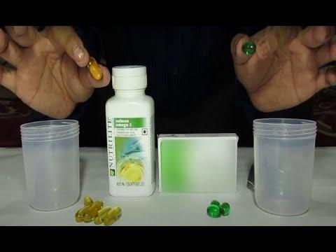Nutrilite Selmon Omega-3 demo   demonstration