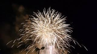 湖南市夏祭り2014花火フィナーレ