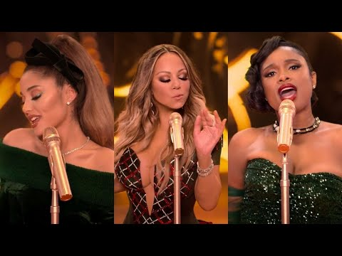 Oh Santa! but everytime it says Santa it gets faster (Mariah Carey, Ariana Grande & Jennifer Hudson)
