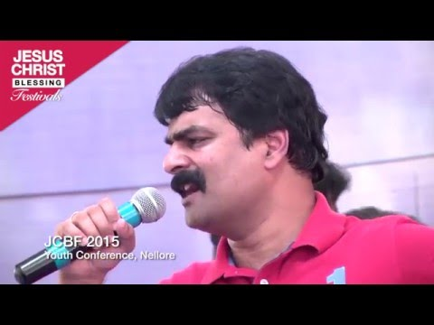 Yesu Devuni Aaradhikulam ( Live Singing) - Bro Anil Kumar - Telugu Christian song