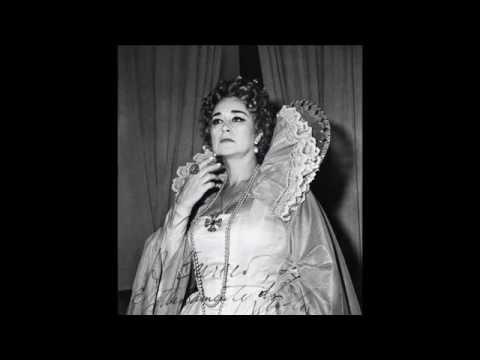 Leyla Gencer - Vivi Ingrato (Roberto Devereux) 1964 - Donizetti