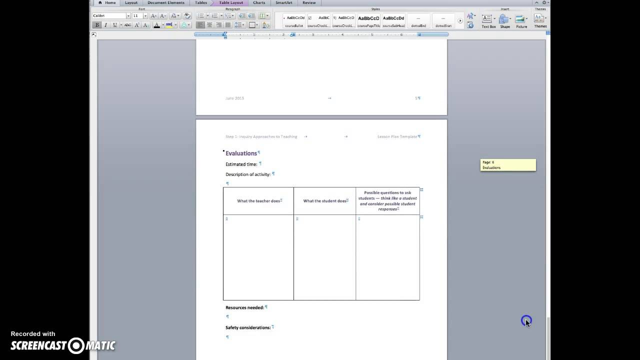 Overview of the 5E Lesson Plan Template   YouTube Overview of the 5E Lesson Plan Template