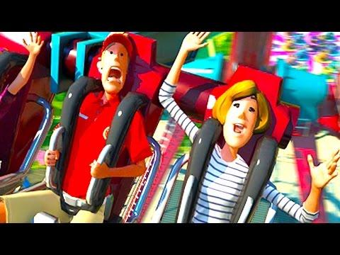 生きて帰れるかわからない鬼畜遊園地 - Planet Coaster 実況プレイ