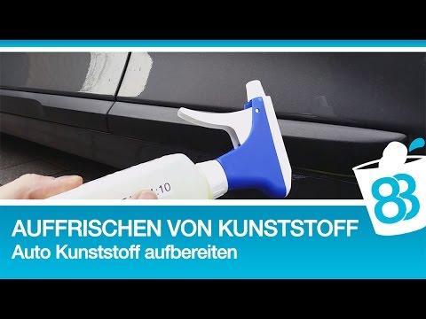 Auffrischen von kunststoff oberfl chen auto kunststoff for Koch chemie plast star
