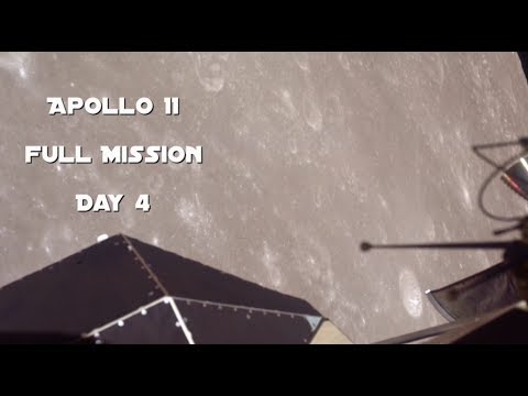 Apollo 11 - Day 4 (Full Mission)