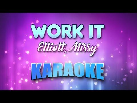Elliott, Missy - Work It (Karaoke & Lyrics)