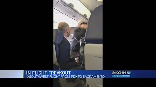 Watch: Woman threatens to 'kill everybody on this plane'