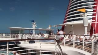 Disney Fantasy Decks 11, 12 & 13 Tour W/ All Ship Horns