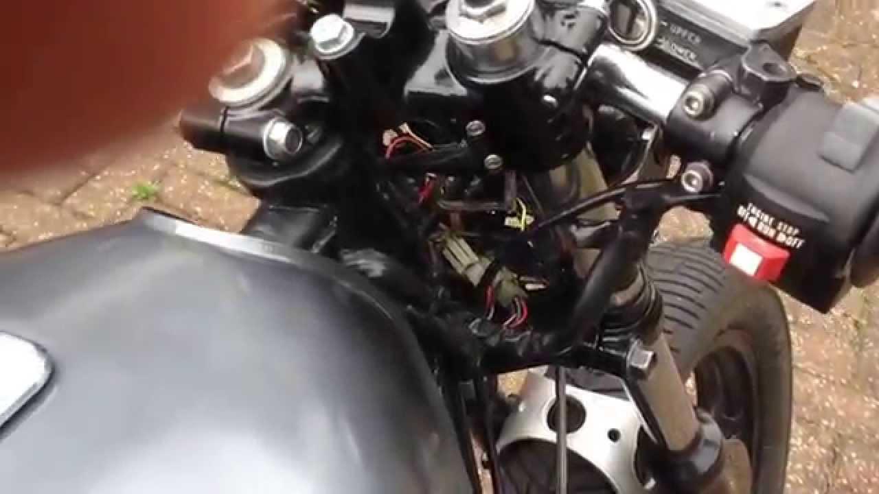 Kawasaki Z750 1984 Cafe Racer Youtube