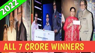 Kaun Banega Crorepati winner list    7 crore winners    kaun banega crorepati