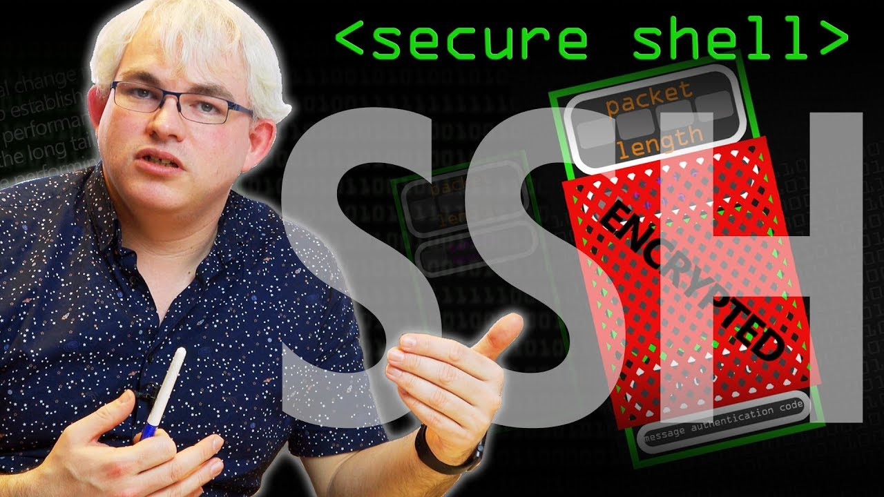 How Secure Shell Works (SSH) - Computerphile by Computerphile